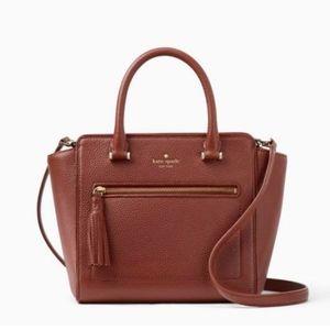 Like new Kate Spade Allyn purse Cognac Brown